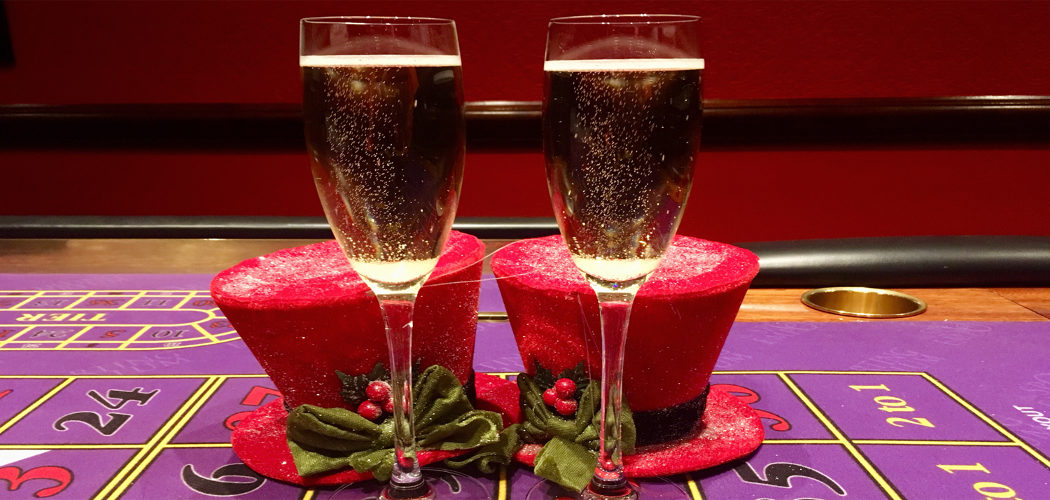 Christmas Bubbly and Hats