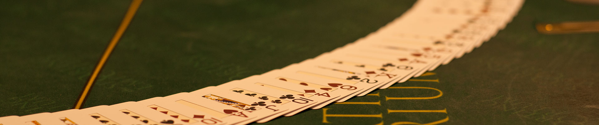 Cards on Poker Green Table