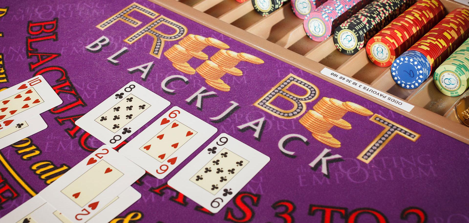 Free bet blackjack online game casino mit paypal zahlen