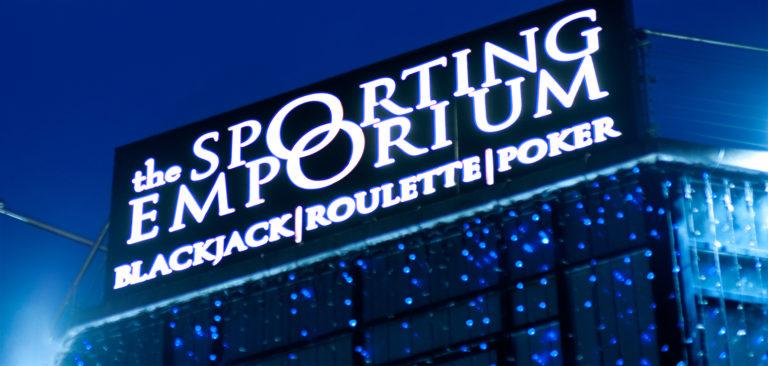 The Sporting Emporium Street Signage